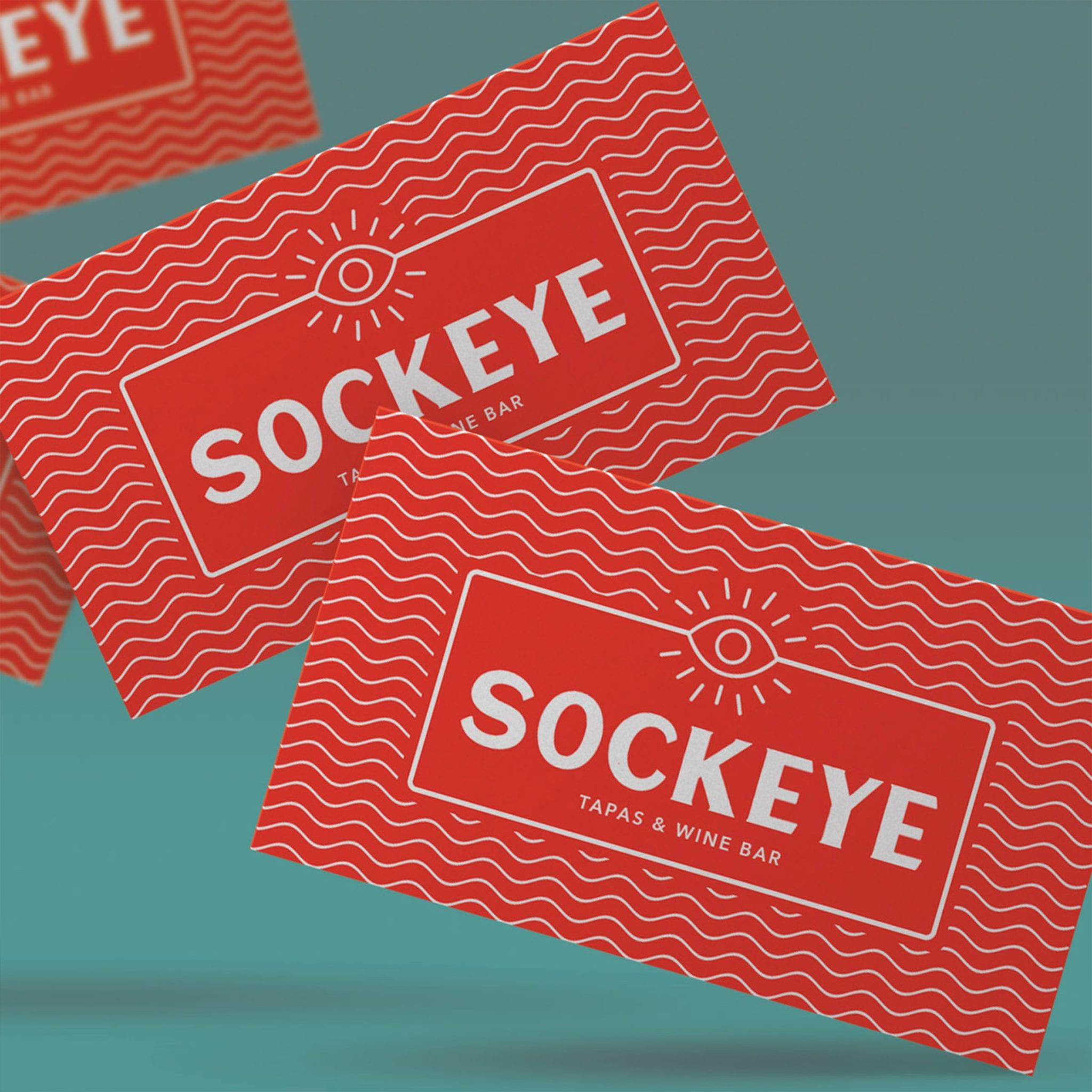 SOCKEYE BUSINESS CARD MOCKUP
